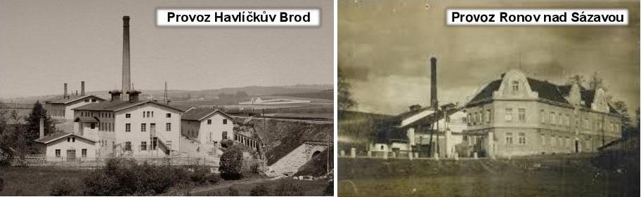 Historie,Amylno Ronov, Amylon Havlíčkův Brod